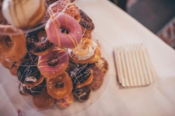 Yum Donut Wedding Cake