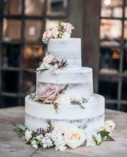 Yummy Cake Rustic Wedding Flowers