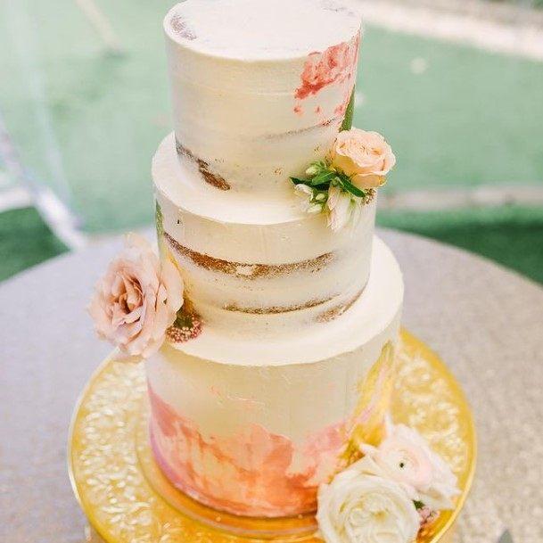 Zesty Buttercream Wedding Cake