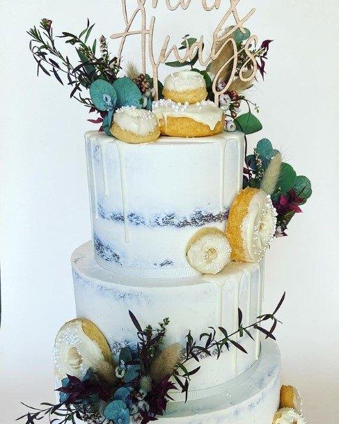 Zesty Donuts Wedding Cake